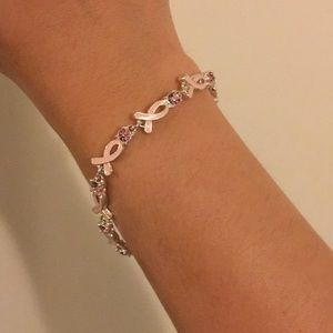 Jewelry - Breast Cancer Awareness Bracelet